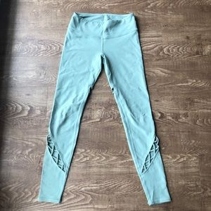 Alo yoga interlace leggings size xsmall